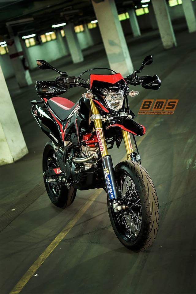 modifikasi Honda-CRF150L- jadi Supermoto KBY