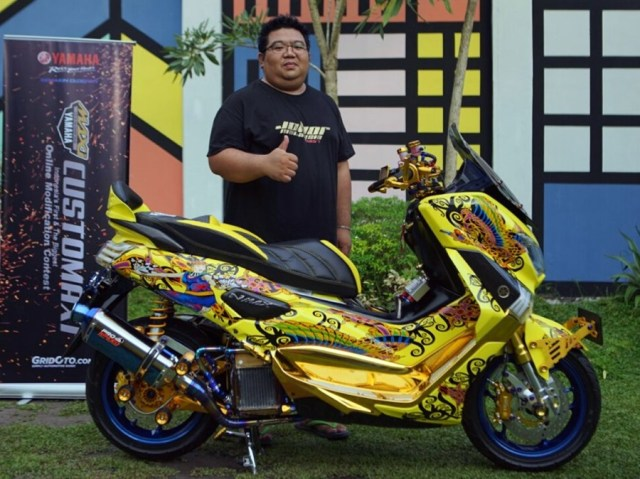 pemenang semifinal customaxi yamaha modifikasi xmax