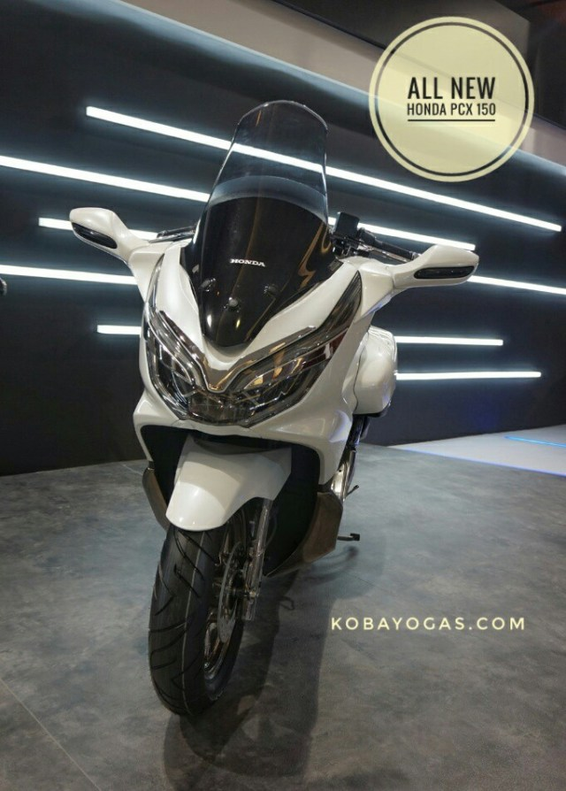 modifikasi all new honda pcx 150 2018
