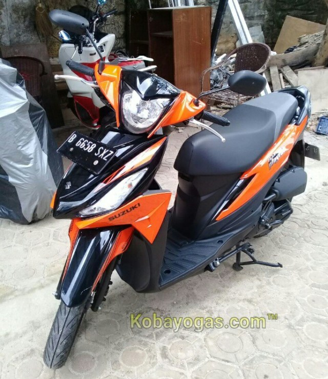 test ride suzuki address playful