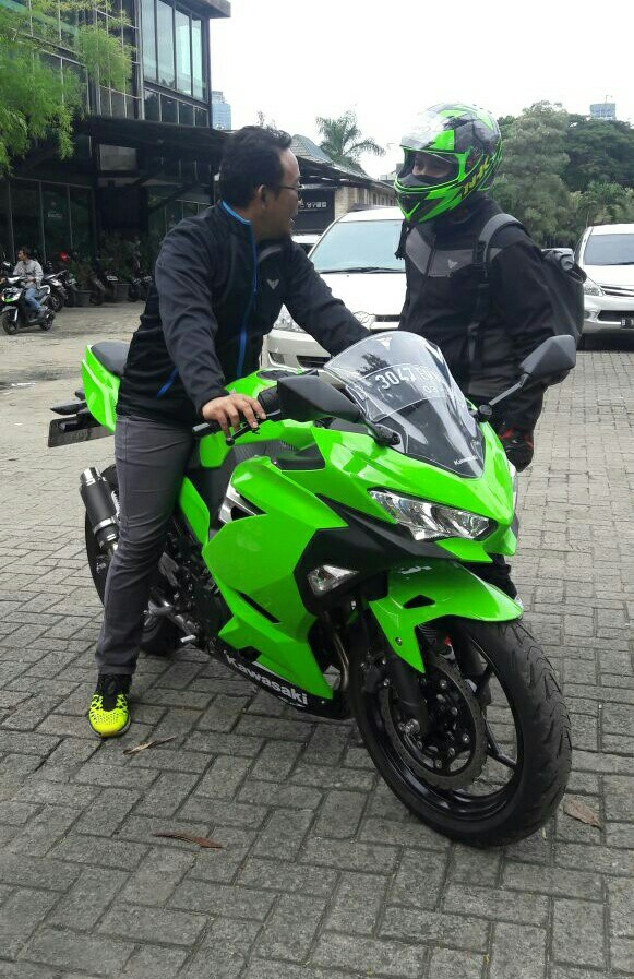 Test Ride Kawasaki All New Ninja 2018
