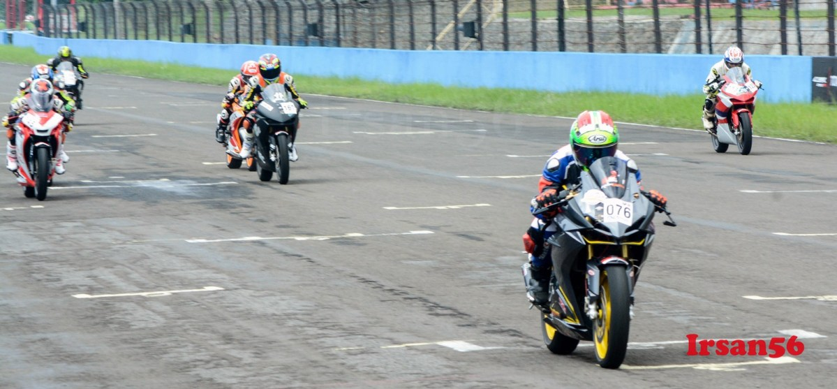 Video Blogger Ikut Balapan Di Indonesia CBR Race Day 2018, Dibuang Sayang
