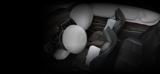 Toyota CHR 2018 airbags