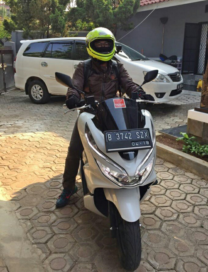 review all new PCX 150 harian dan dibawa turing