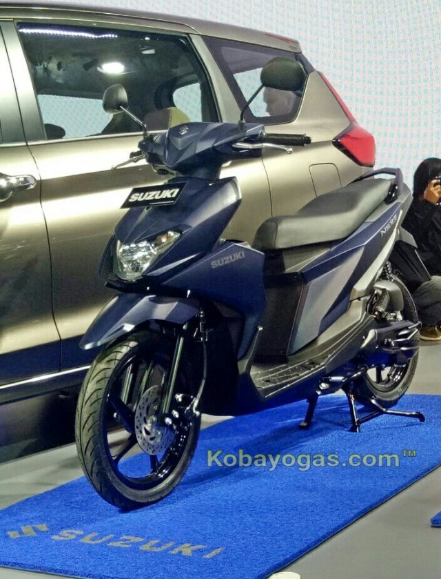 foto galeri all new Suzuki NEX II 2018