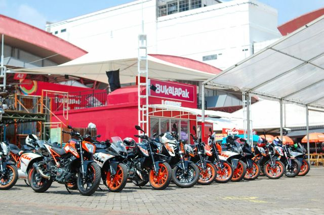 KTM Orange Day ke IIMS 2018