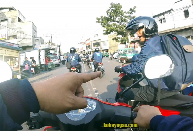 test ride suzuki nex ii 10