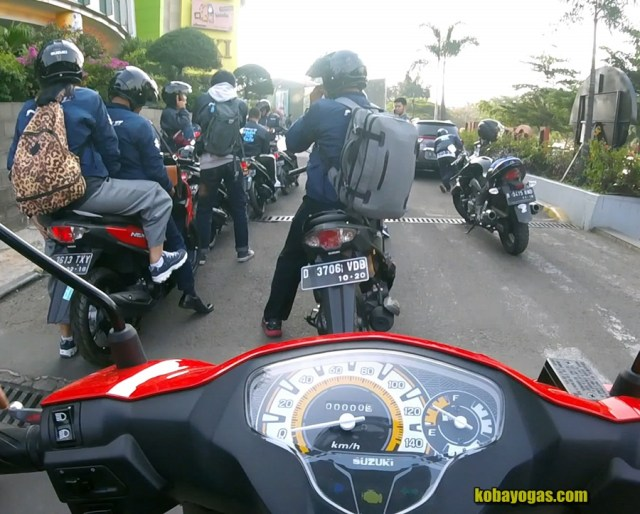 test ride suzuki nex ii 2