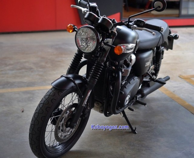 Review -Test Ride Triumph Bonneville T100 4