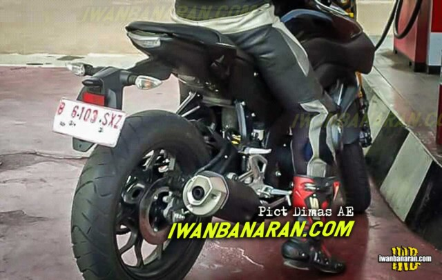Spy Shot Terbaru Yamaha MT-15