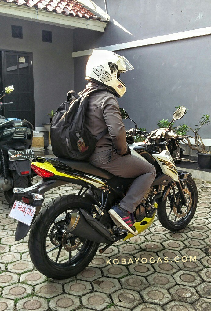 Review Suzuki Bandit 150, Tantangan Eco Riding Harian