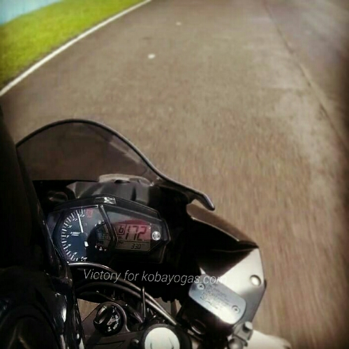 top speed Yamaha R25 standar di sentul