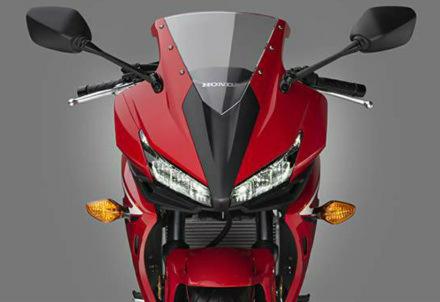ilustrasi New CBR150R facelift serupa dengan CBR500R