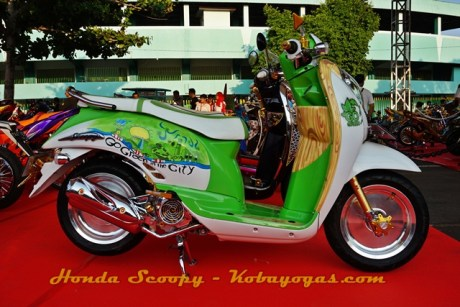modifikasi Honda Scoopy 2