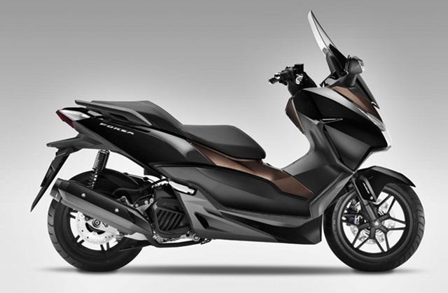 Honda Forza hitam coklat kobayogas
