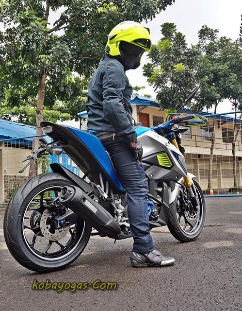Yamaha Xabre modif 2