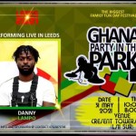Danny Lampo To Perform At This Year's Ghana Party In The Park(Uk)