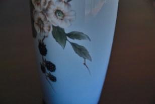 ロイヤルコペンハーゲン ブラックベリー柄 花瓶 2