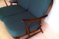 ERCOL(アーコール)2シーターソファ グリーンのソファ