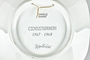 1967年製 NYMOLLE イヤープレート ビョルンビンブラッドデザイン 5