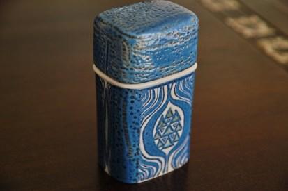 アルミニア窯 Teneraシリーズ  GRETHE HELLAND HANSEN デザインの シガーバルク(タバコ入れ)