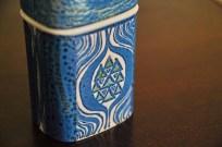 アルミニア窯 Teneraシリーズ  GRETHE HELLAND HANSEN デザインの シガーバルク(タバコ入れ) 1