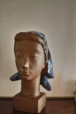 彫刻家Johannes Hedegaardの胸像 1