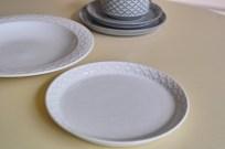 Jens.H.Quistgaard Cordialパターン ケーキプレート ホワイト