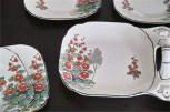 英国 1851年創業のburleigh ware 社製お皿のセット 5
