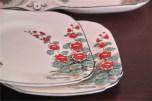 英国 1851年創業のburleigh ware 社製お皿のセット 4