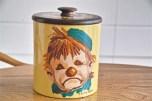 米国 ランズバーグ社 RANSBURG クッキー缶 蓋は木製 3
