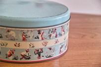 英国 ウースターウェアー(Worcester Ware)の名品! 茶摘み柄のケーキ缶 7