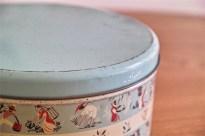 英国 ウースターウェアー(Worcester Ware)の名品! 茶摘み柄のケーキ缶 5