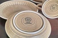 B&G JH クイストゴー デザイン リーフ柄 カップ・ソーサー&ケーキ皿 2セット 3