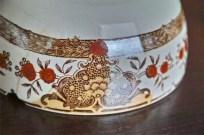 カフェオレボウル その11 CERANORD(セラノール サンタマン製) オリエンタル柄 3