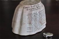 BROWN & POLSON'S 陶器モールド タイプ3 4