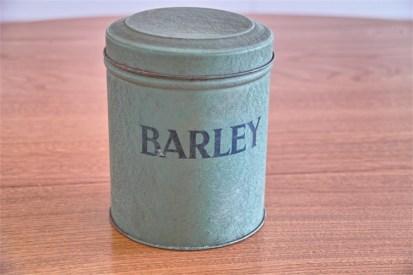 英国 Tala社製 BARLEY (大麦)缶 とっても凝った作りです!