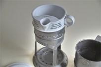 英国 GRIMWADE社製 離乳食を作られていたと言われています。陶器と金属のレアなセット。1
