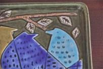 Lindberg製作 リサ・ラーソンデザイン 3匹のロビン(ヨーロッパコマドリ) 4