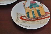 ドイツ ローゼンタール(Rosenthal)製 アンディ・ワォホール(Andy Warhol)デザイン ケーキ柄のエスプレッソカップ 2ヶセット 5