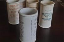 英国 クロテッドクリームボトル パープル文字 ロングサイズ 5
