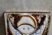 SOHOLM スーホルム Noomi Backhausen (ノーミ バックハウゼン)デザイン 天使の陶板 1972年クリスマス製作 天使の陶板