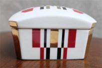 資生堂 SHISEIDO ノベルティ  椿会 1997年度 フェイスパウダー用 陶器製小物入れ 3
