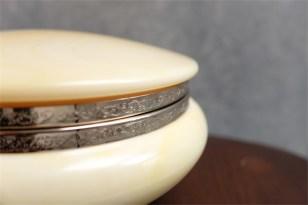 資生堂 SHISEIDO ノベルティ  椿会 1970年度 名称「ファンタジーポット」ボディパウダー用 硬質プラスチック製 14