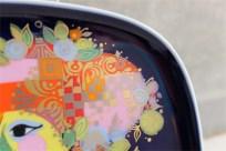 ドイツ ローゼンタールStudio-line製 ビョルン・ヴィンブラッドデザイン 飾り皿 ギター(バラライカ)を弾く女性 7