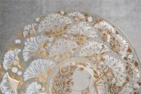 独1976年 ROSENTHAL(ローゼンタール社)製 ビョルン・ヴィンブラッドデザインのガラス飾り皿 3000枚限定 24