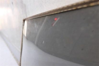 デンマーク製 アンティークフレーム 吹きガラス製で凸型に湾曲しています B 3