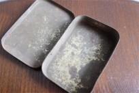 フランス製 トローチ入れ ブリキ(TIN)缶 cocaine コカイン??? 昔のFRISK缶