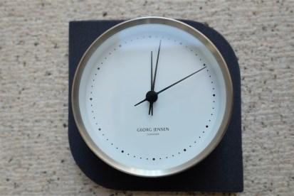 現行品 ジョージジェンセン コッペルウォールクロック 径10センチタイプ ヘニング コッペル(Henning Koppel)デザイン