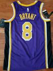 New Nike NBA Kobe Bryant LA Lakers Swingman Jersey 8 Men's M/44 $120 NWT